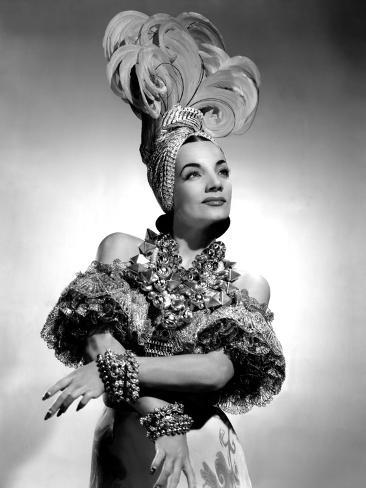 That Night in Rio, Carmen Miranda, 1941 Fotografia