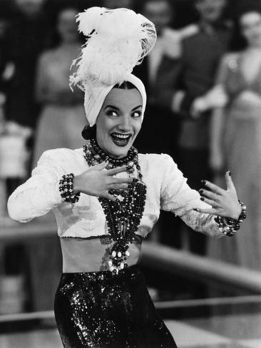 That Night In Rio, Carmen Miranda, 1941 Photo