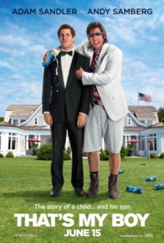 That's My Boy (Adam Sandler, Adam Shamberg) Movie Poster Double-sided poster
