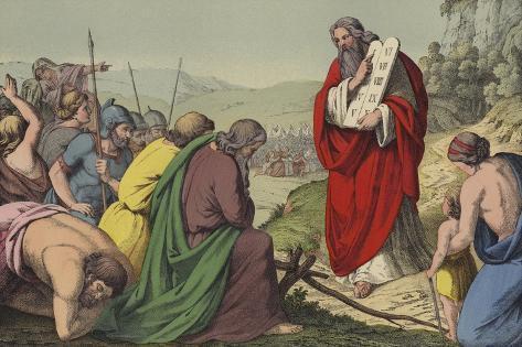 The 10 Commandments-Mini Lámina giclée