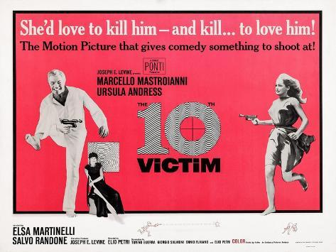 The 10th Victim Premium-giclée-vedos
