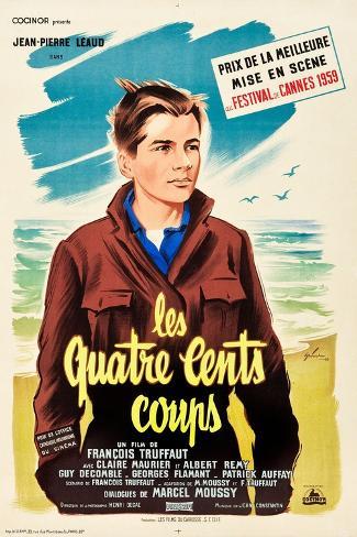 The 400 Blows (aka Les Quarte Cents Coups) Art Print