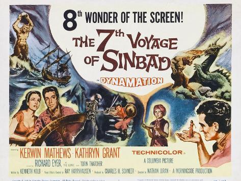The 7th Voyage of Sinbad, 1958 Art Print