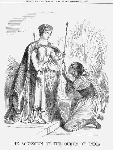 The Accession of the Queen of India, 1858 Giclee Print