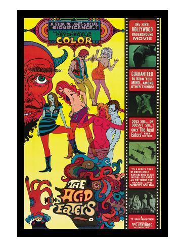 The Acid Eaters Art Print