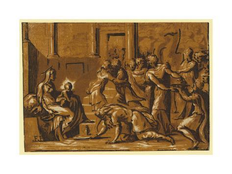 The Adoration of the Magi Lámina giclée