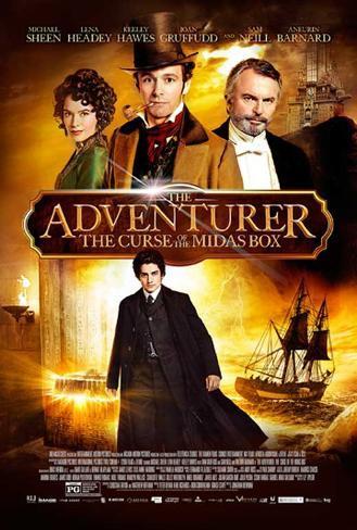 The Adventurer: The Curse of the Midas Box Impressão original