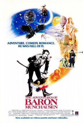The Adventures of Baron Munchausen Pôster