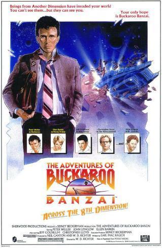 The Adventures of Buckaroo Banzai Across the Eighth Dimension Lámina maestra