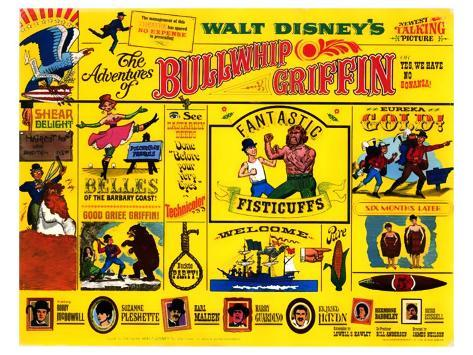 The Adventures of Bullwhip Griffin, 1967 Art Print