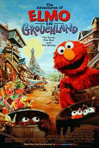 The Adventures of Elmo In Grouchland Movie Poster Original Poster