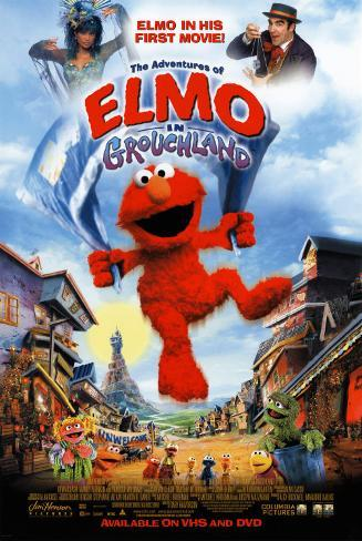 The Adventures of Elmo in Grouchland Pôster original