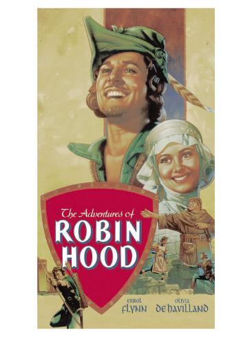 The Adventures of Robin Hood, 1938 Stretched Canvas Print