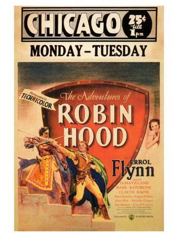 The Adventures of Robin Hood, 1938 Konstprint
