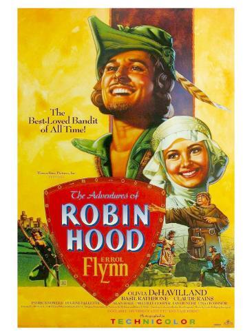 The Adventures of Robin Hood, 1938 Art Print