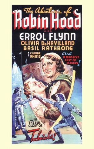 The Adventures of Robin Hood Masterprint