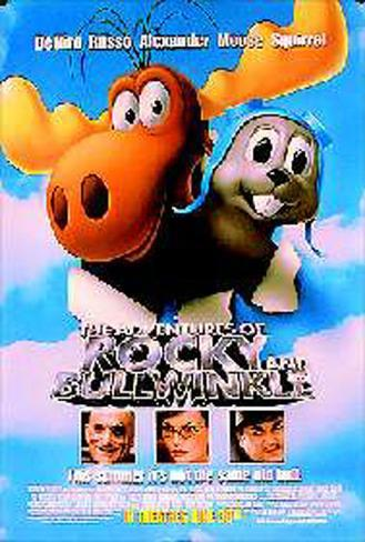The Adventures Of Rocky & Bullwinkle Original Poster