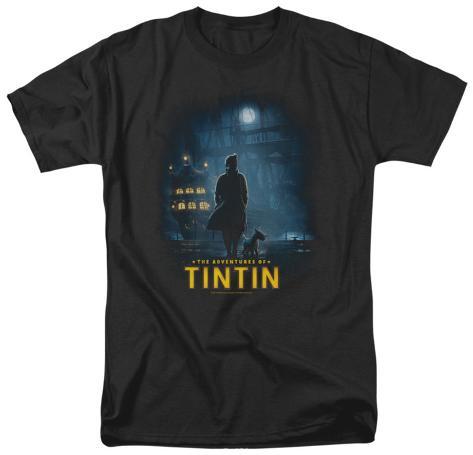 The Adventures of TinTin - Tintin Poster T-Shirt