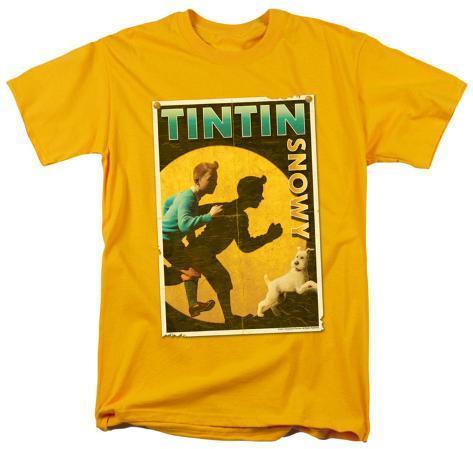 The Adventures of TinTin - Tintin & Snowy Flyer T-Shirt