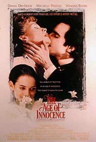 The Age Of Innocence Double-sided poster
