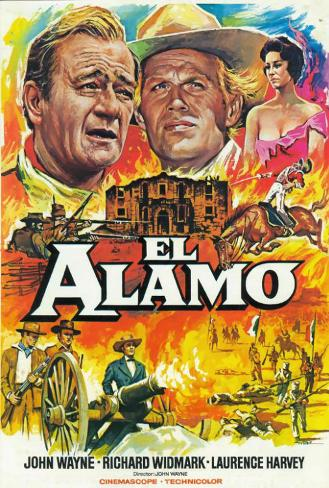The Alamo - Spanish Style Poster