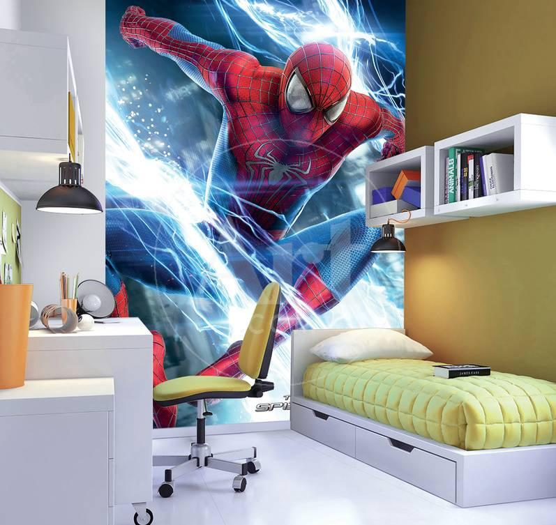 Best 25 spiderman wall mural decorating design of custom - Poster mural spiderman ...