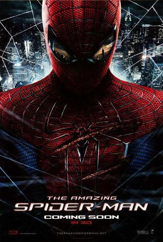 The Amazing Spider-Man Movie Poster Poster