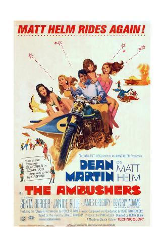 The Ambushers - Movie Poster Reproduction Stampa artistica