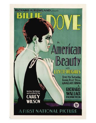 The American Beauty - 1927 Giclee Print