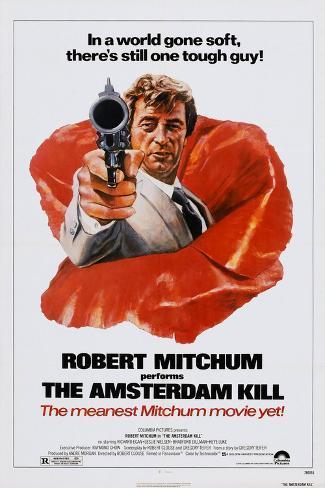 The Amsterdam Kill, Robert Mitchum, 1977 Art Print