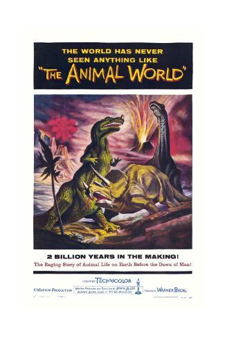 The Animal World Art Print