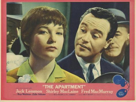 The Apartment, 1960 Konstprint