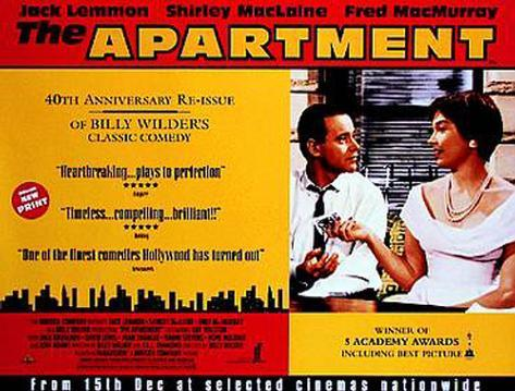 The Apartment Póster original