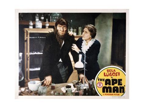 The Ape Man Konstprint