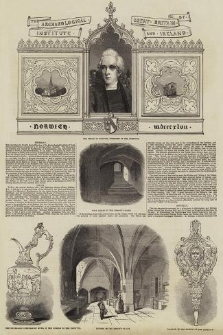 The Archaeological Institute of Great Britain and Ireland Giclee Print