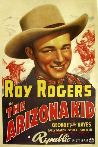 THE ARIZONA KID, center: Roy Rogers, 1939 Stampa artistica