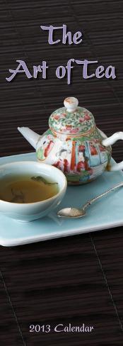 The Art of Tea - 2013 Slim Calendar Calendars