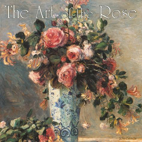 The Art of the Rose - 2014 Calendar Calendars