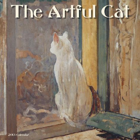 The Artful Cat - 2013 Wall Calendar Calendars
