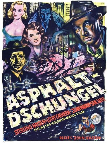 The Asphalt Jungle Art Print