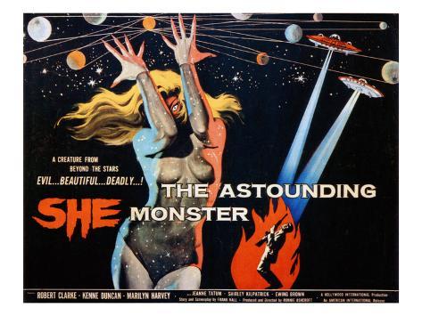 The Astounding She Monster, Shirley Kilpatrick, 1958 Photo