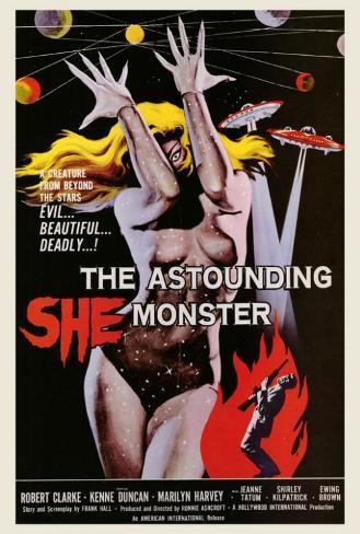 The Astounding She-Monster Poster