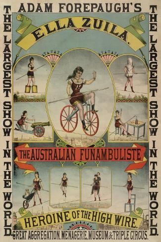 The Australian Funambulist. Stampa giclée