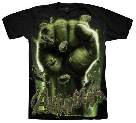 The Avengers - Hulk Fist T-Shirt