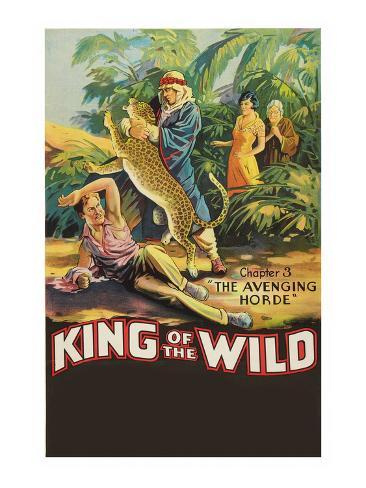 The Avenging Horde - King of the Wild Stretched Canvas Print