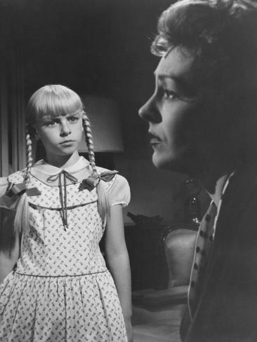 The Bad Seed, Patty Mccormack, Nancy Kelly, 1956 Photo