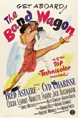 The Band Wagon, 1953 Gicléetryck