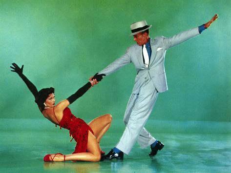 The Band Wagon, Cyd Charisse, Fred Astaire, 1953 Fotografía