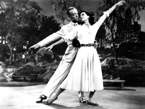 The Band Wagon, Fred Astaire, Cyd Charisse, 1953 Photo