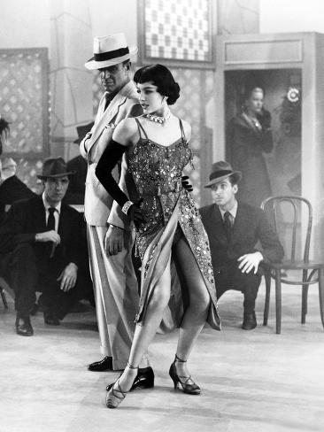 The Band Wagon, from Left, Fred Astaire, Cyd Charisse, 1953 Fotografía